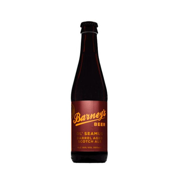 Bourbon Barrel Aged Ol' Seamus Scotch Ale